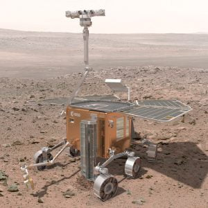2018'de Dünya'dan fırlatılacak ExoMars yüzey aracı.