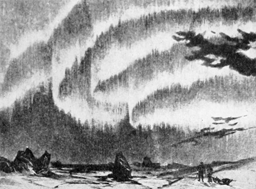 Kutup Işıkları Kutup yakınlarında iyonosfer boyunca ilerleyen akımlar bazen kutup ışıklarının oluşmasına neden olur.