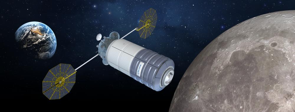 Orbital ATK şirketinin Dünya ile Ay arası Yaşam Alanı konsepti, şu anda Uzay istasyonunda hizmet veren Cygnus Uzay Aracı temel alınarak yapıldı ve Mars'da kullanılmak üzere görevi arttırıldı.