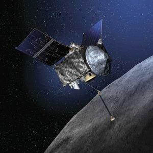 Eylül 2016'da fırlatılacak olan Osirix-Rex uzay aracı, Bennu 101955 isimli asteroide 2018'de varacak. (Nasa; İlüstrasyon Pete Sucheski tarafından)