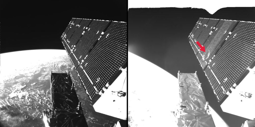 sentinel-1a-fragment-in-space