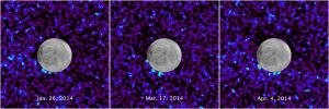 2014'te elde edilen verilere göre Europa üzerinde 3 farklı noktada su izine rastlandı.