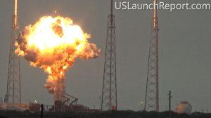 1 Eylülde SpaceX'in Falcon 9 roketi fırlatma rampası üzerinde test ateşlemesi için yakıt dolumu yapıldığı esnada patladı. Patlamanın temel nedeni hala meçhul