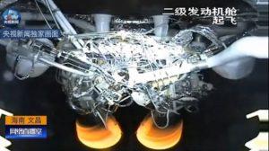 YZ-2 Long March 5 İkinci Kademe Çin Uzay Roketi