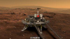 Çin Mars Sondaj Görevi