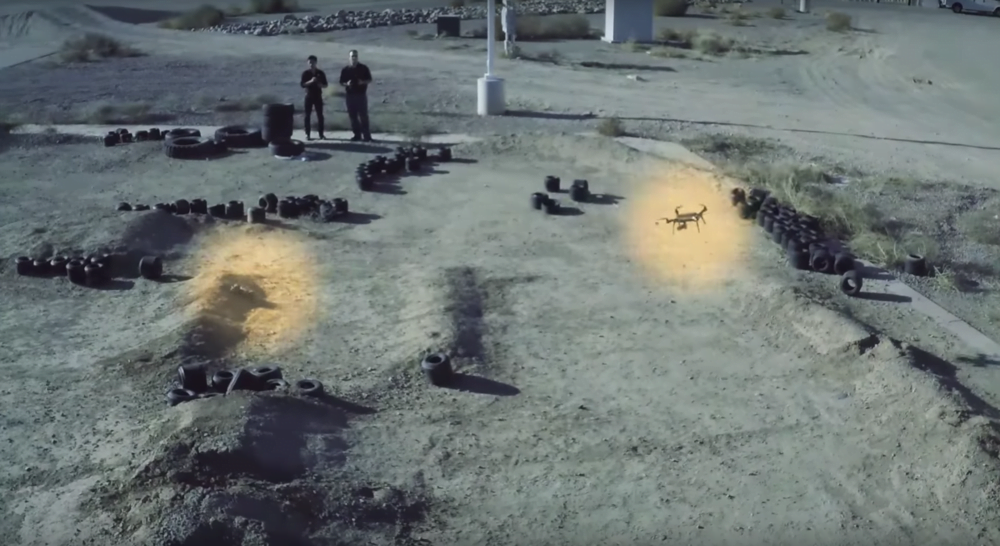 Keşif Drone u Fly-Mode