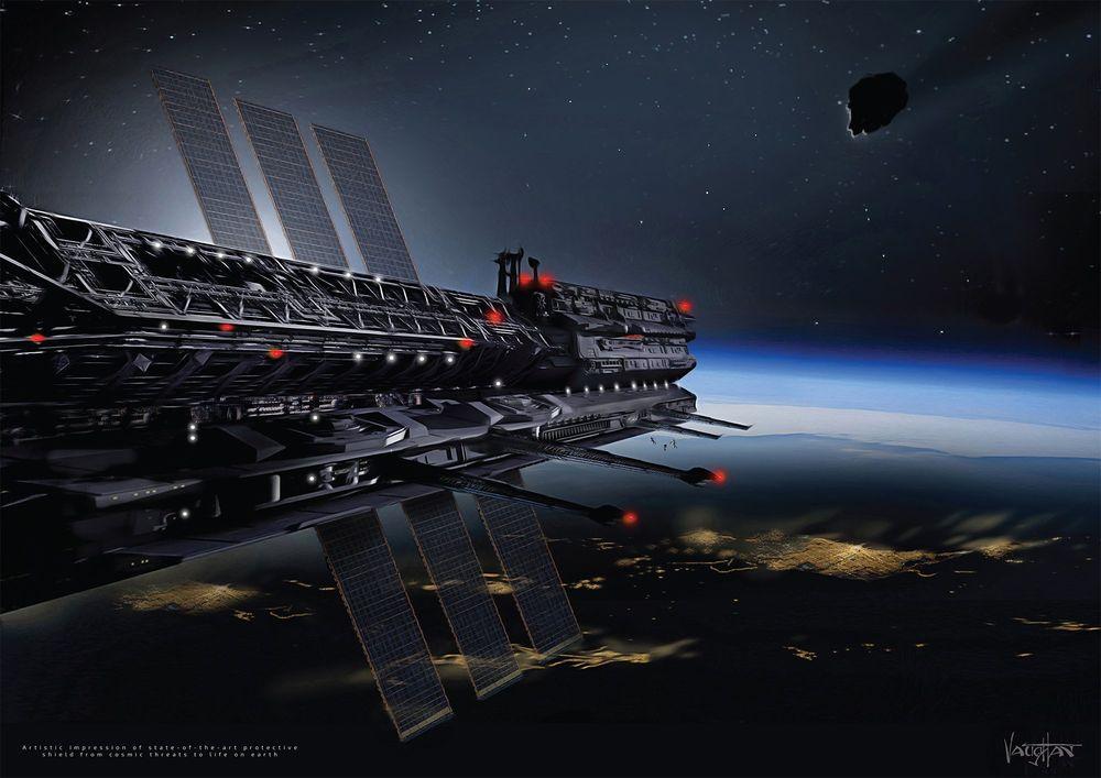 Bu sabah bir Rus bilim adamı Asgardia'yı bağımsız uzay ulusu olarak ilan etti. Burada sanatçının illüstrasyonu Asgardia uzay istasyonunun ne gibi görünebileceğini bizlere gösteriyor.