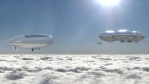 Sanatçı Venüs'te kurulan bulut şehrini canlandırıyor.