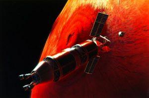 Mars görevinin canlandırması