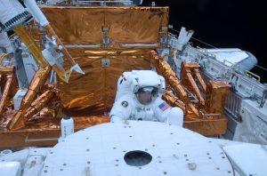 Massimino ikinci (ve son) Hubble onarım görevinde.