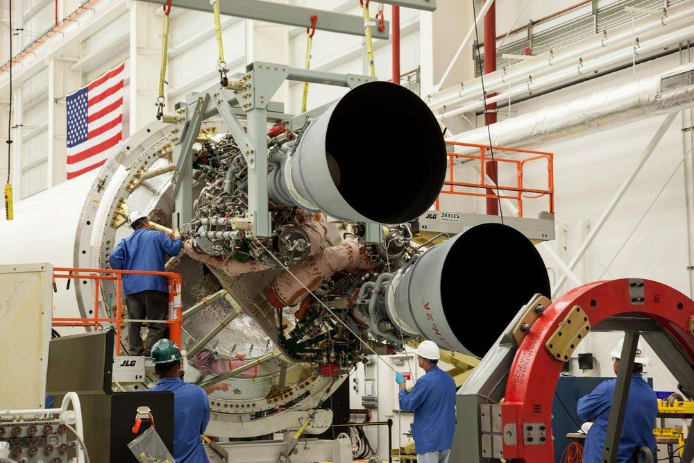 Yeni ve geliştirilmiş Antares 230 roketi iki RD-181 makinasıyla havalanacak.