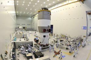 Çin'in dünya yörüngesinde kalıcı bir araştırma tabanı inşa etme sürecindeki sıradaki adım.