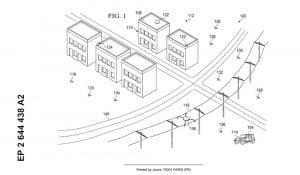 Araç Baz İstasyonu konsept çizimi.