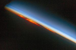 Uzaydan günbatımı