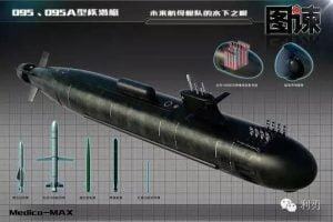Çin 095 Sınıfı Nükleer Denizaltısı