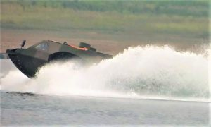 Kuzey Çin Araç Araştırma Enstitüsü Amfibi Aracı