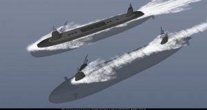 Çin'in mühimmat denizaltı gemisi