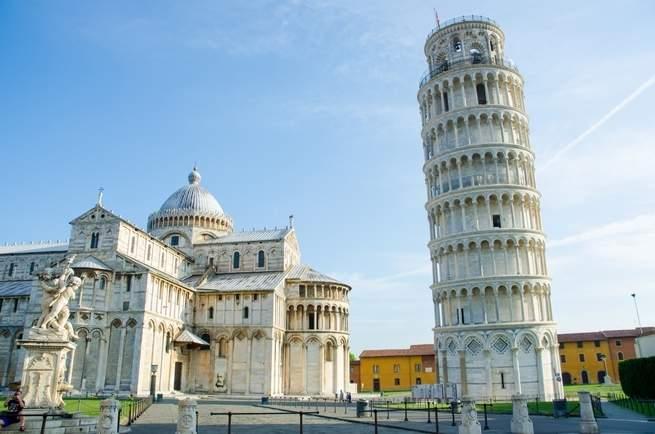 Pisa Kulesinin Eğimli Olmasının Sebebi İle Ayakta Durmasının Sebebi Aynı - Popular Science