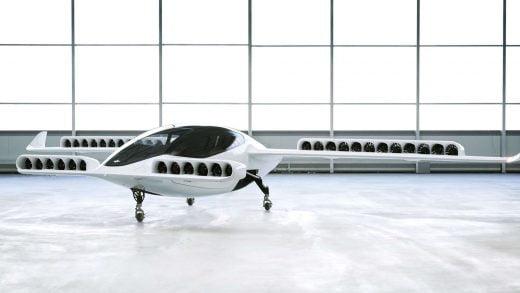 36 Adet Mafsallı 'Jet' Motoruyla Dikey Şekilde Havalanan Elektrikli Hava Taksisi