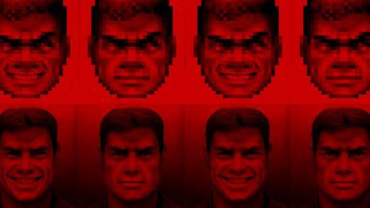 Doom Adamı, Yapay Zeka İle Yüksek Çözünürlüklü Hale Geldi