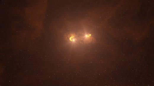 Büyüleyici Görüntüler, Çift Yıldızların Karmaşık Doğuşunu İlk Defa Gözler Önüne Seriyor
