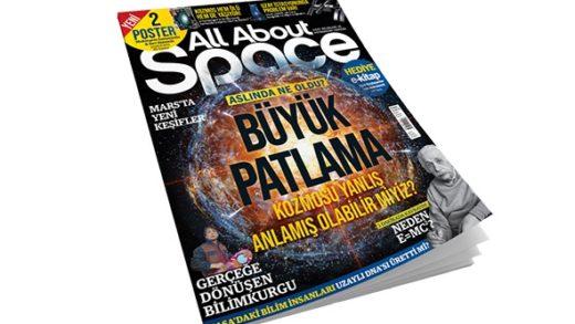 All About Space İlk Sayısıyla Bayilerde!