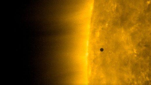 Merkür, Güneş'in Önünden 2032'ye Kadar Son Defa Geçti