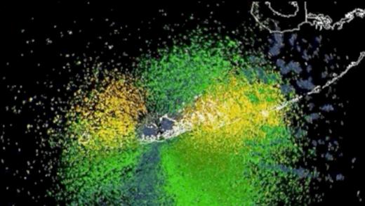 Devasa Bir Kuş Göçü, Hava Durumu Radarında Böyle Görünüyor