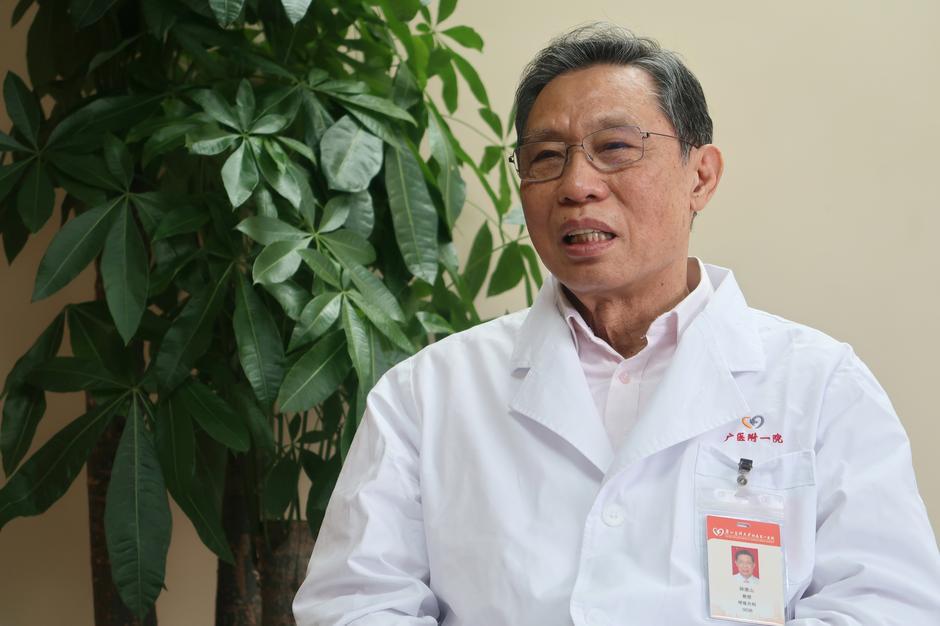 Nanshan Zhong, Çinli epidemiyolojist ve pulmonolojist 2003'te SARS'ı tespit eden kişi.